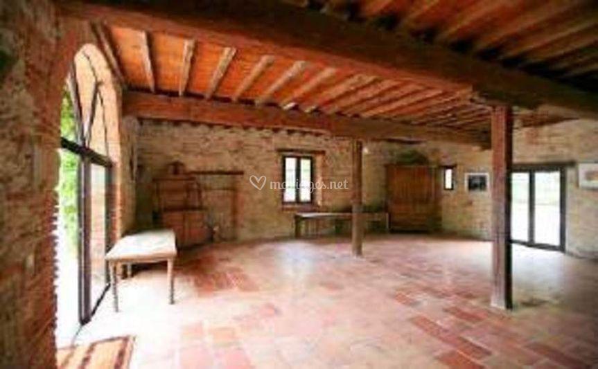 Petite salle Tournesol vide