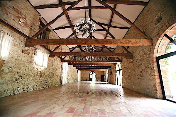 Salle de l'orangeraie vide