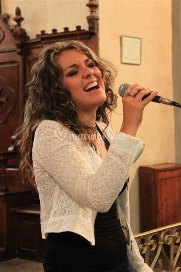 Mathilde, chanteuse soprano