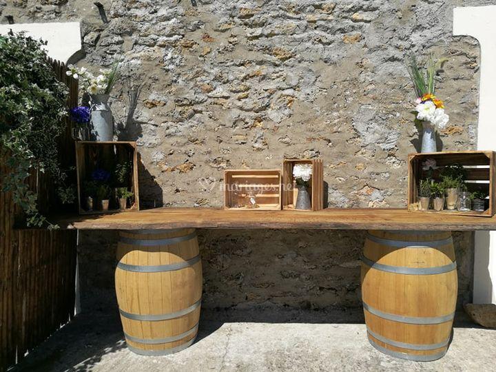 Mobilier - Bar Champêtre