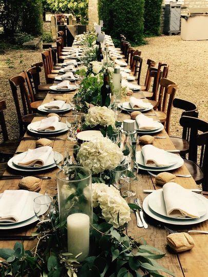 Banquet dans 3ème cour
