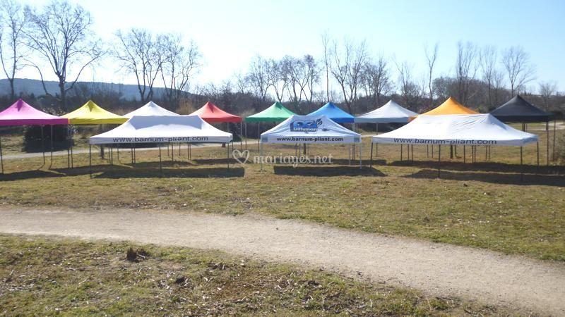 Grand choix de taille de tente