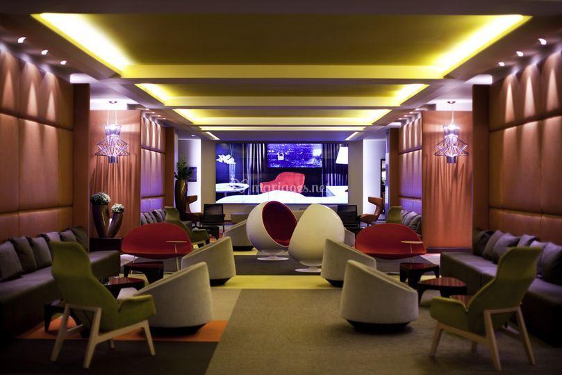 Lobby sur H�tel Pullman Paris Montparnasse