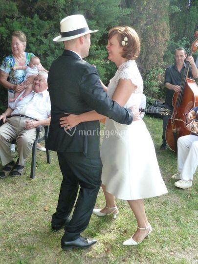 Les mariés et leur famille