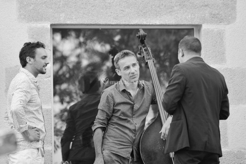 Discussion avec les musiciens