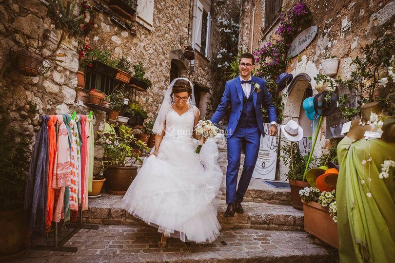 Mariage sur Carros