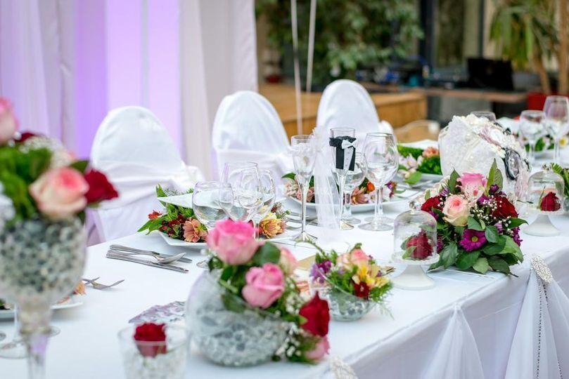 Table mariage petit budget