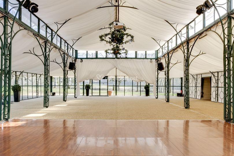 La salle de l'Orangerie