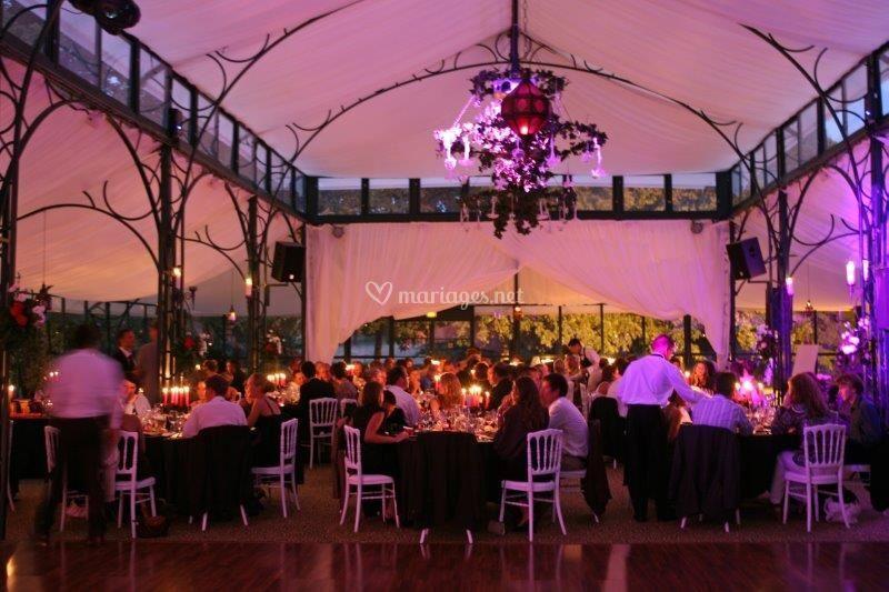 L'Orangerie lors de la soirée