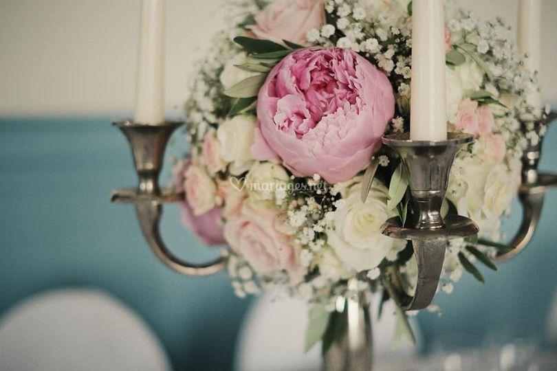 Les Bouquets De Pauline Chandelier