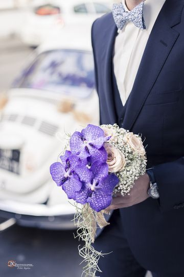 Remise de bouquet