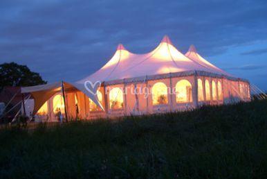 Tente pagoda gigant