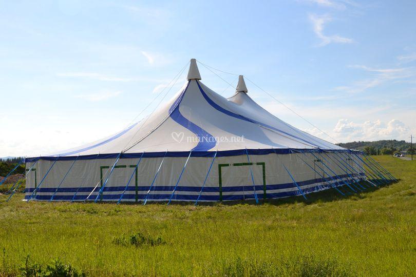 Chapiteau cirque 20x30