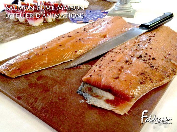 Atelier découpe de saumon