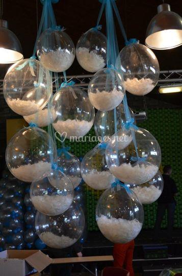 Bubble ballon plume