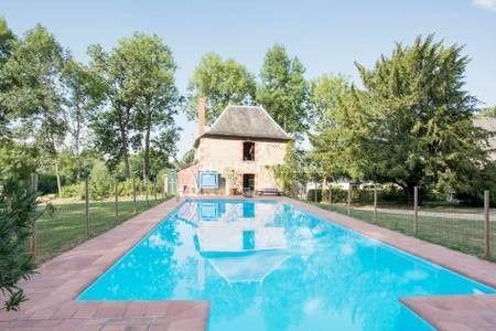 Piscine et maison de la piscin