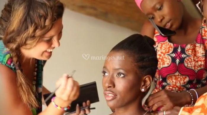 Le maquillage de mariage