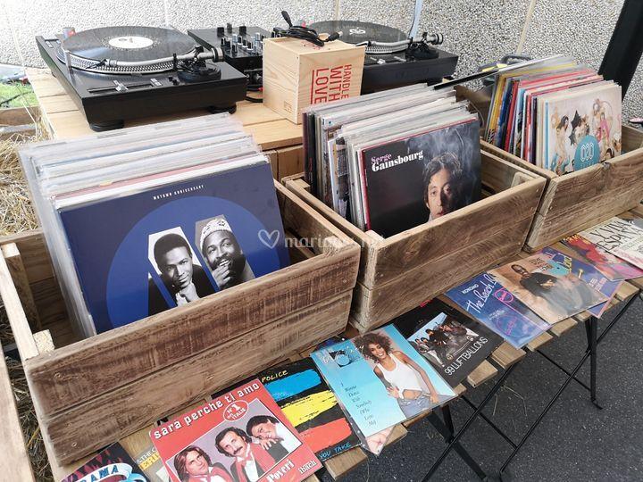 Vinyles 33t et 45t
