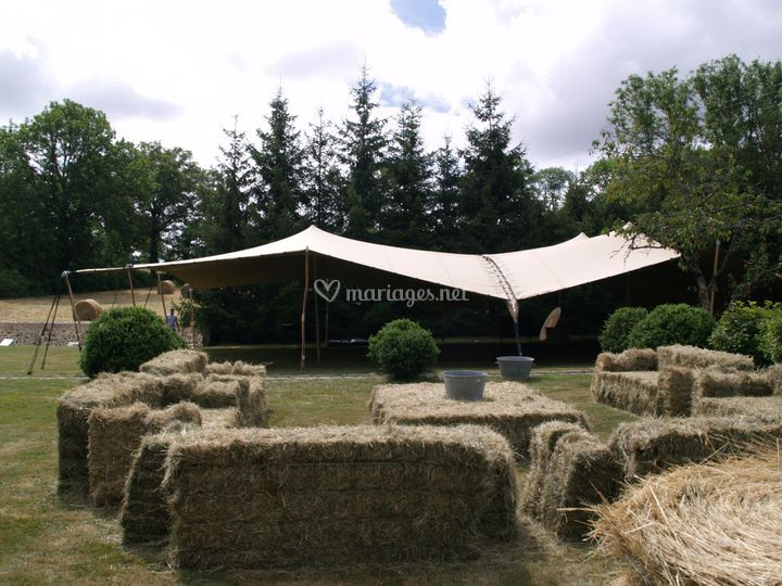 Tente stretch 300 m²