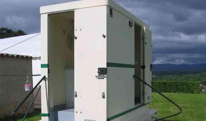 Cabines de toilettes