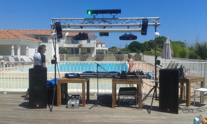 Installation terrasse piscine