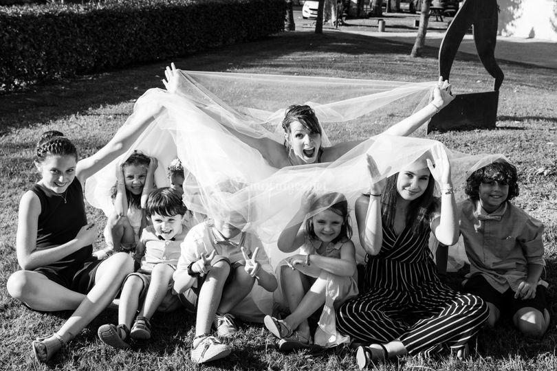 Photos avec les enfants