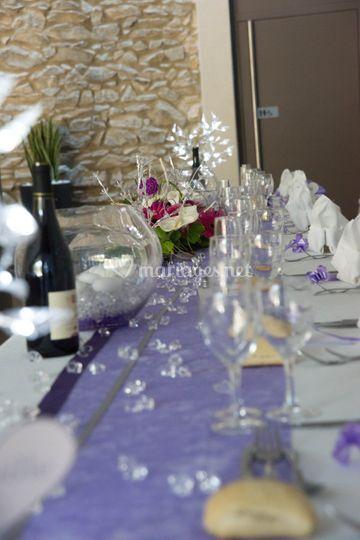 Le boudoir du mariage for Mauve la vie claire