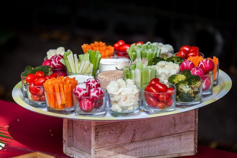 Nos légumes croquants