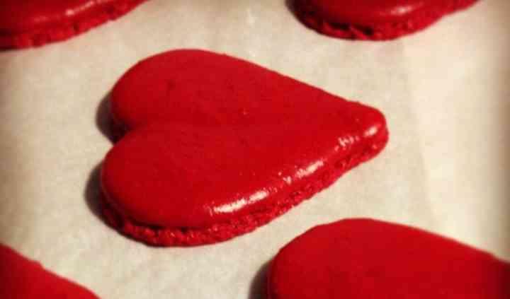 Coeur macaron