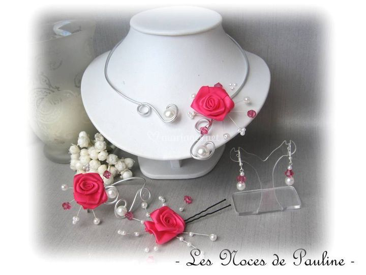 Anais fuchsia Rose