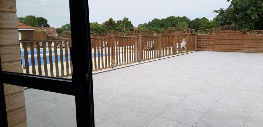 Terrasse salle