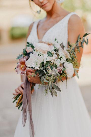 Bouquet de mariée Luxe