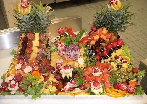Buffet de fruits