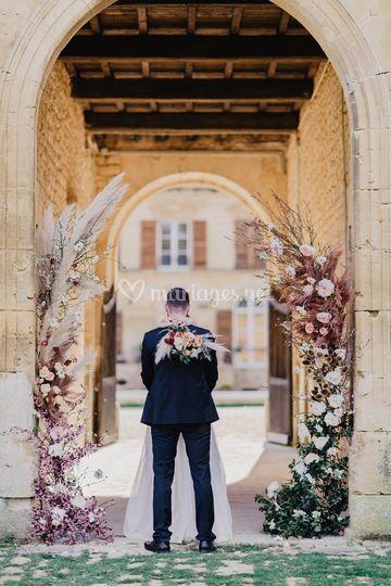 Arche de cérémonie mariage