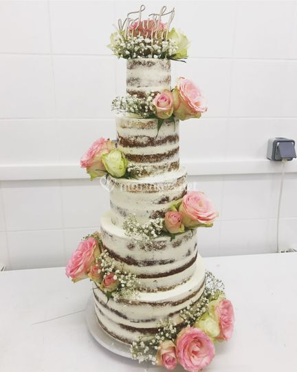 Nude cake 130 parts