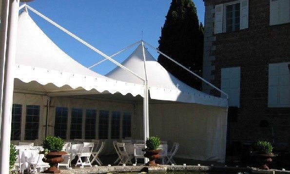 Tente 5mx5m