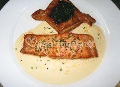 Feuilleté et saumon