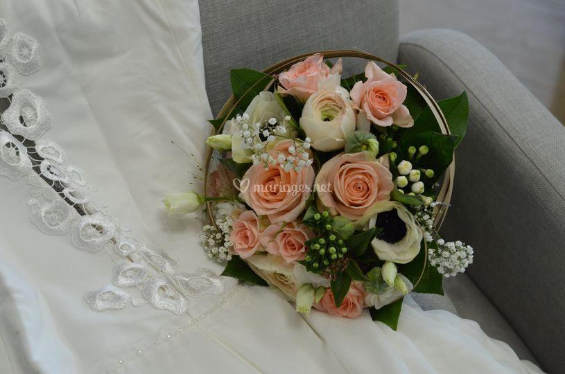 Bouquet ton pastel