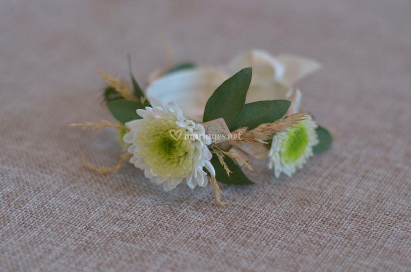 Bracelet thème champêtre