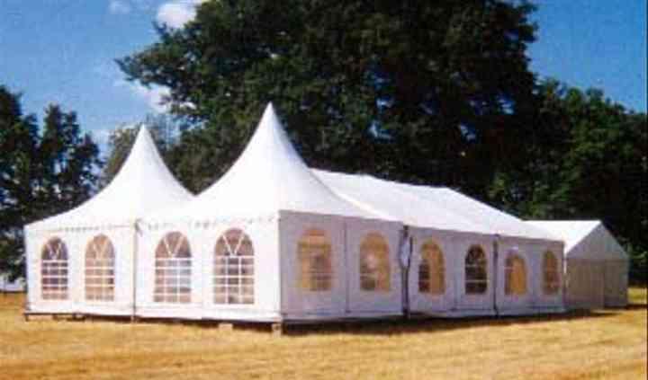 2 Gardens + Structure 10 x 10 m + tente 20 m