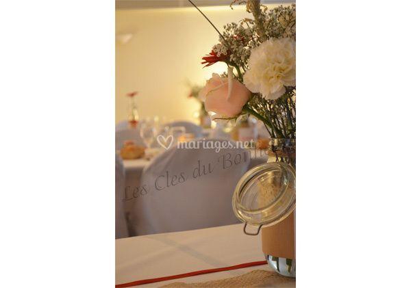 centre de table de les cl s du bonheur photo 26. Black Bedroom Furniture Sets. Home Design Ideas