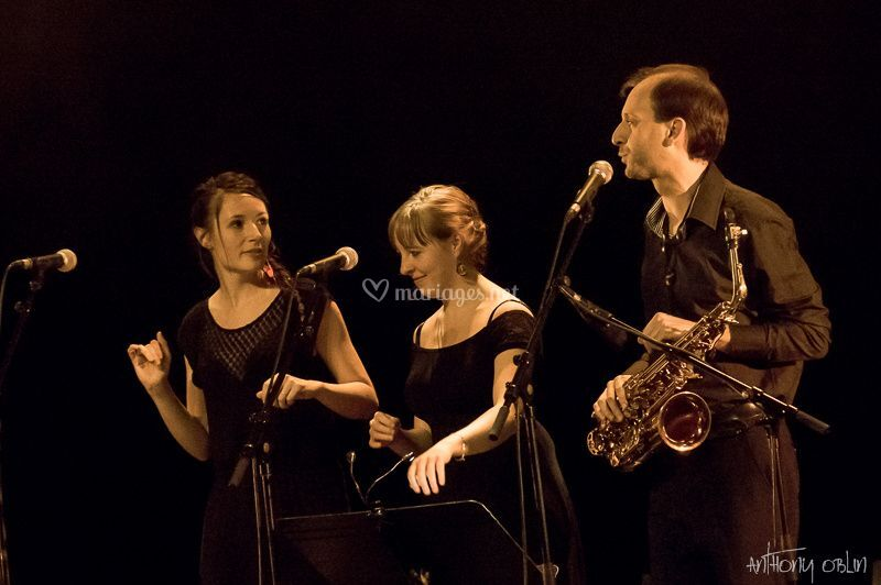 Flûte et saxophone
