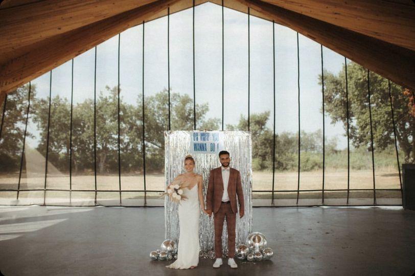 Disco wedding