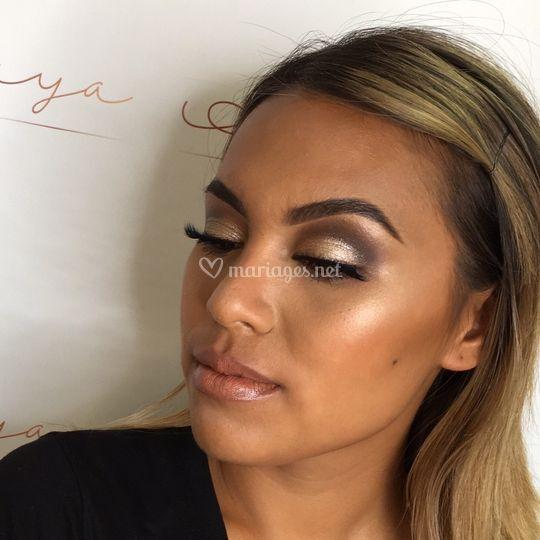 Makeup journée peau métissée