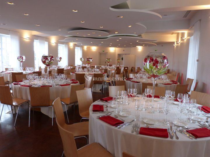 Salle Schwendi 2e étage rouge
