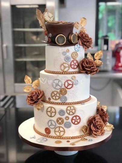 Wedding cake à thème