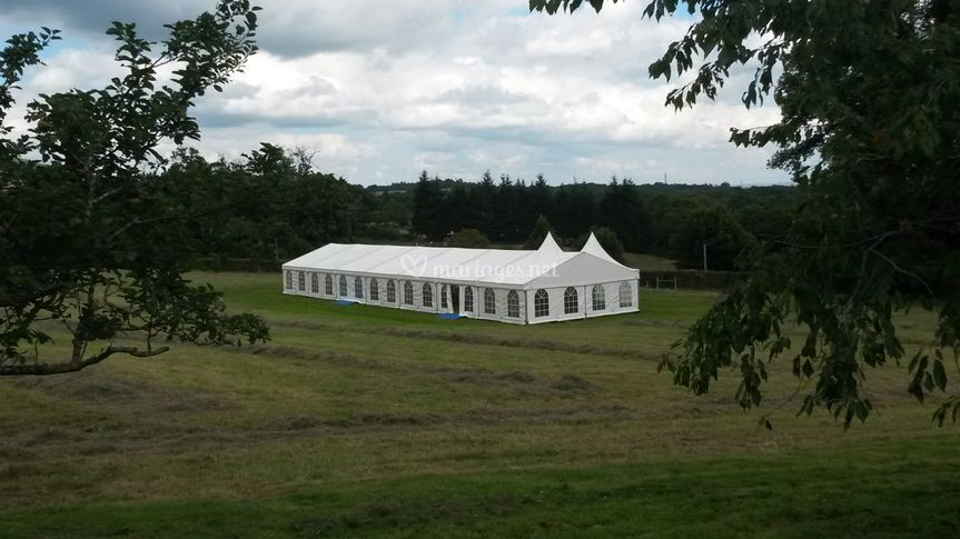 10m x 40m + tentes 5x5