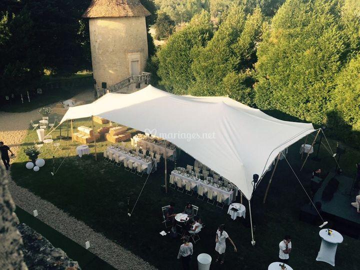 Tente Nomade Berbère 150 m²