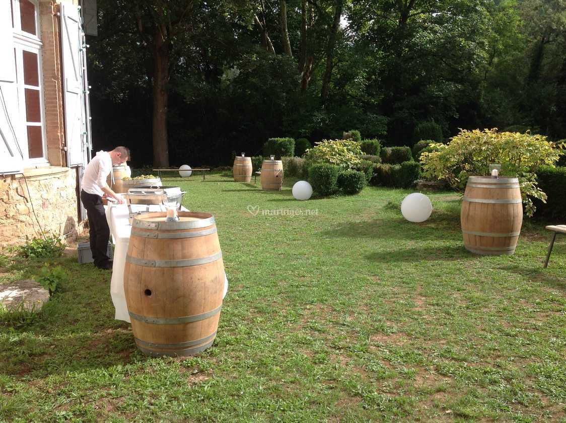 Décoration mariage jardin de Château de la Vère | Photo 32