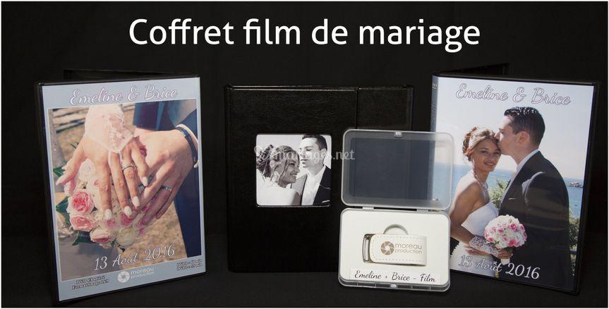 Coffret film de mariage